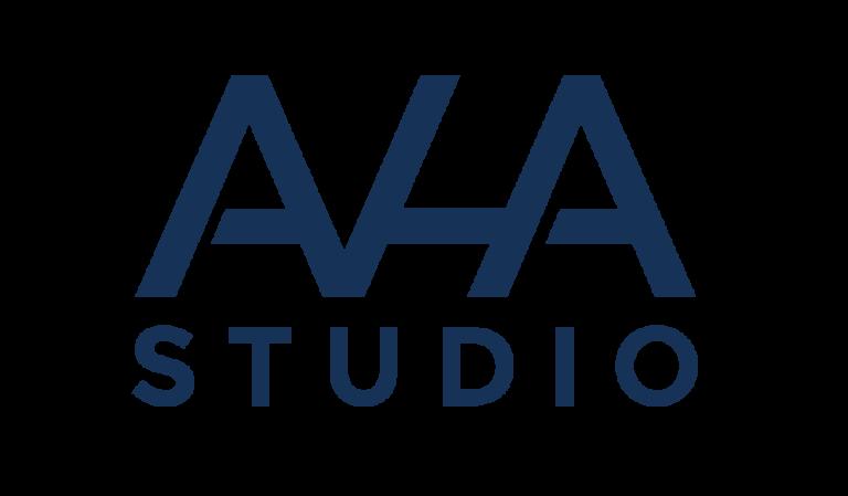 AHA studio Logo groAY23333 1 768x449